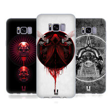 HEAD CASE DESIGNS GRIM SOFT GEL CASE FOR SAMSUNG GALAXY S8+ S8 PLUS