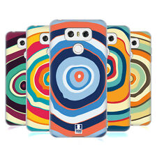 HEAD CASE DESIGNS COLOURFUL TREE RINGS SOFT GEL CASE FOR LG G6