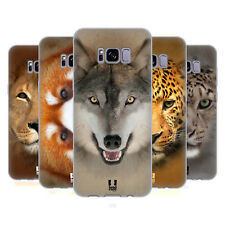 HEAD CASE DESIGNS ANIMAL FACES 2 SOFT GEL CASE FOR SAMSUNG GALAXY S8+ S8 PLUS