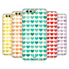 HEAD CASE DESIGNS FANCY HEARTS SOFT GEL CASE FOR HUAWEI P10 PLUS
