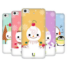 HEAD CASE DESIGNS PUPAZZO DI NEVE COVER RETRO RIGIDA PER XIAOMI Mi 5s