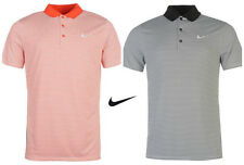 NIKE VICTORY MINI STRIPE POLO SHIRT GOLF GOLFING SIZES S-2XL