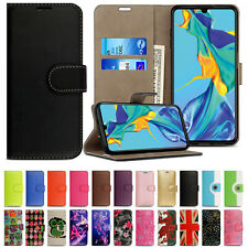 Leather Stand Flip Wallet Cover Phone Case For Huawei P20 Pro Lite Plus Mate 20