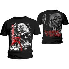 Iron Maiden T Shirt Number of The Beast Jumbo Official All Sizes Black Unisex
