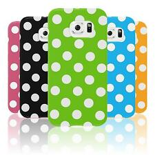 Custodia in Silicone Samsung Galaxy S6 Edge Polkadot