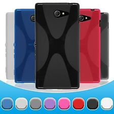 Coque en Silicone Sony Xperia M2 - X-Style  + films de protection