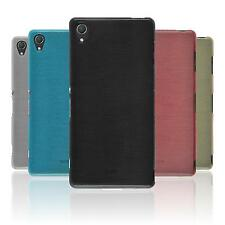 Coque en Silicone Sony Xperia Z3 - brushed  + films de protection