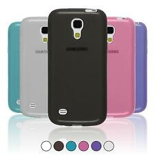 Funda de silicona Samsung Galaxy S4 Mini Plus I9195 transparente