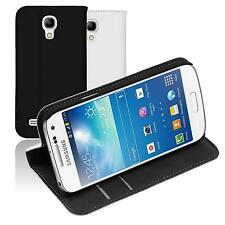 Cubierta de cuero artificial Samsung Galaxy S4 Mini Plus I9195 Bookstyle  Case