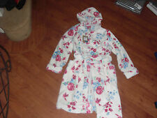 BNWT GIRLS JOULES JNR NUTKIN CREAM FLORAL DRESSING GOWN AGE 11-12 YRS.RRP 32.95