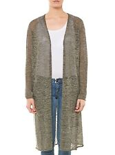 NUOVO DRYKORN CARDIGAN DONNA CARDIGAN 406100 ASHBY VERDE SCURO VERDE SCURO DONNE