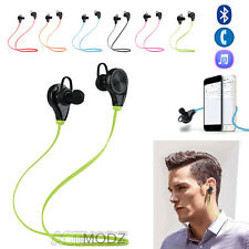 Wireless Bluetooth 4.0 Earphone In-Ear Stereo Headphone Headset For Cell Phones