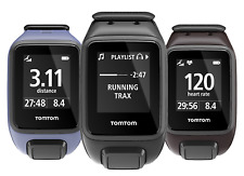 TomTom Spark GPS Speed Distance Sports Fitness Watch Cardio & Music Variations