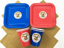HARRY POTTER/HOGWARTS Birthday Party Tableware Pack/Set/Kit - Plates, Cups etc