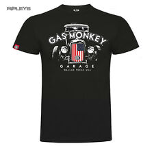 Official GMG T Shirt Gas Monkey Garage PATRIOTIC Hot Rod Dallas All Sizes
