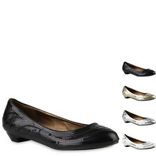 Damen Pumps Klassische Pumps Blockabsatz Pailletten Schuhe 817494 New Look