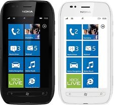 NOKIA Lumia 710 Windows Smartphone ohne Simlock - Wie neu - 9,4cm - 5MP - 8GB