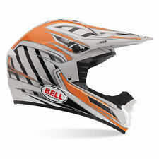 Bell SX-1 Casco MX Interruttore arancione Motocross Enduro MX casco