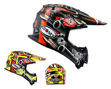 Suomy Casco da cross Mr Jump BULLET MX Motocross casco Enduro Quad Fuoristrada