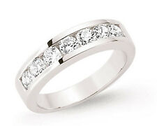 Anello Eternity Channel Setting Argento Sterling