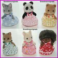 NEW clothes 4 Sylvanian Families - PINAFORE DRESS  FITS REGULAR CHILD/SMALL MUM