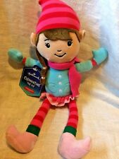Hallmark Clementine Elf Plush NEW  North Pole Stuffed Doll Toy Christmas