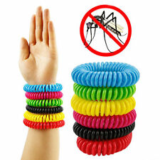 NEW 2017 Anti Mosquito Bug Insect Repellent Bracelet Wrist Band Repellent 350 HR
