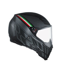 AGV casco integrale AX-8 NAKED CARBON NERO FOREST OPACO CARBON/GRIGIO/ITALY IT