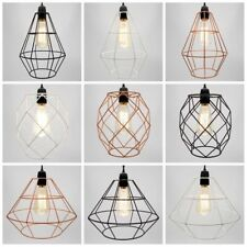 Modern Metal Industrial Chandelier Style Ceiling Pendant Light Lamp Shade