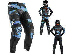 Thor Pantalone Cross Impulsi Covert Mx Tubo Radiatore Motocross Enduro Mx Cross