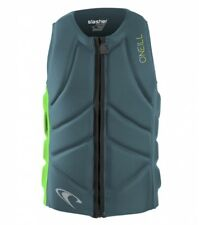 ONeill Slasher Comp Vest Herren Neopren Weste Dusty Blue-Dayglow