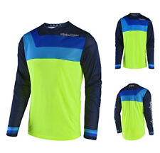 Troy Lee Design GP Air PRISMA MX MTB ENDURO MAGLIA MOTOCROSS GIALLO FLUO