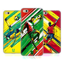 HEAD CASE DESIGNS MOSSE DI CALCIO COVER RETRO RIGIDA PER XIAOMI Mi 5c