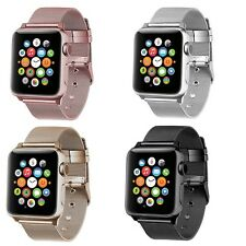 For Apple Watch Band Stainless Steel Classic Buckle Bracelet Wrist Series 1 2 3