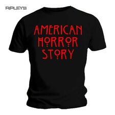 Official T Shirt American Horror Story Red LOGO Monsters Asylum Cult All Sizes