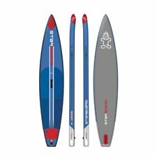 Starboard Inflatable SUP Board Racer Deluxe Breite 28 blau 2017