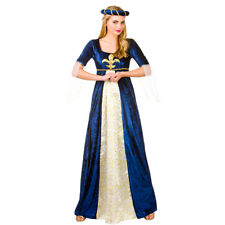 Adults Ladies Medieval Maiden Costume for Middle Dark Ages Fancy Dress