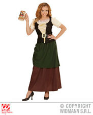 Ladies MEDIEVAL WENCH Costume for Middle Dark Ages Fancy Dress Outfit