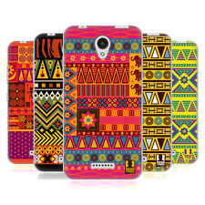 HEAD CASE DESIGNS AFRICAN PATTERN SERIES 2 SOFT GEL CASE FOR LENOVO A PLUS
