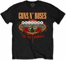 GUNS N ROSES Welcome To The Jungle T-SHIRT OFFICIAL MERCHANDISE