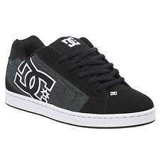 DC Shoes Net Black White Men Low-top Lace-up Skate Casual Fashion Trainers Shoes