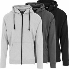 Urban Classics Herren Sweatjacke TB1130 Herrenjacke Zip Jacket Hooded Jacke