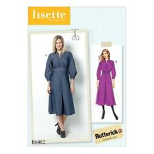 Butterick Couture Motif femmes'LISETTE raglan à manches robe taille 6 - 22 b6482
