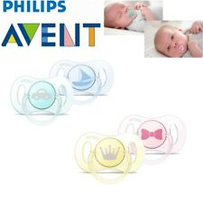 Philips Avent Baby Mini Orthodontic Dummy Pacifier Silicone Teat Soother 0-2m
