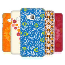 HEAD CASE DESIGNS DAISY PATTERNS HARD BACK CASE FOR HTC U PLAY