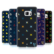 HEAD CASE DESIGNS TINY PIXEL PRINTS HARD BACK CASE FOR HTC U ULTRA