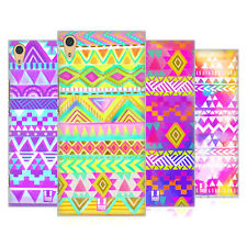 HEAD CASE DESIGNS COLOUR TRIBAL HARD BACK CASE FOR SONY XPERIA XA1 ULTRA / DUAL