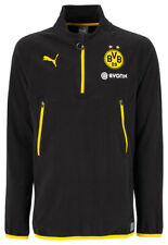 Puma BVB  Training Fleece Jacke Herren Sportjacke sweatshirt zipper