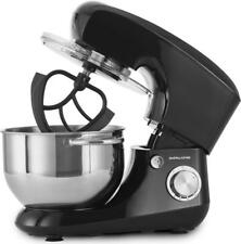Andrew James Stand Food Mixer with 5.5L Bowl & 4 Mixing Attachments 800W