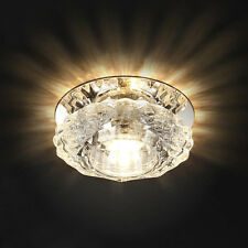 3W 5W Modern Crystal LED Ceiling Light Fixture Hallway Pendant Lamp Chandelier